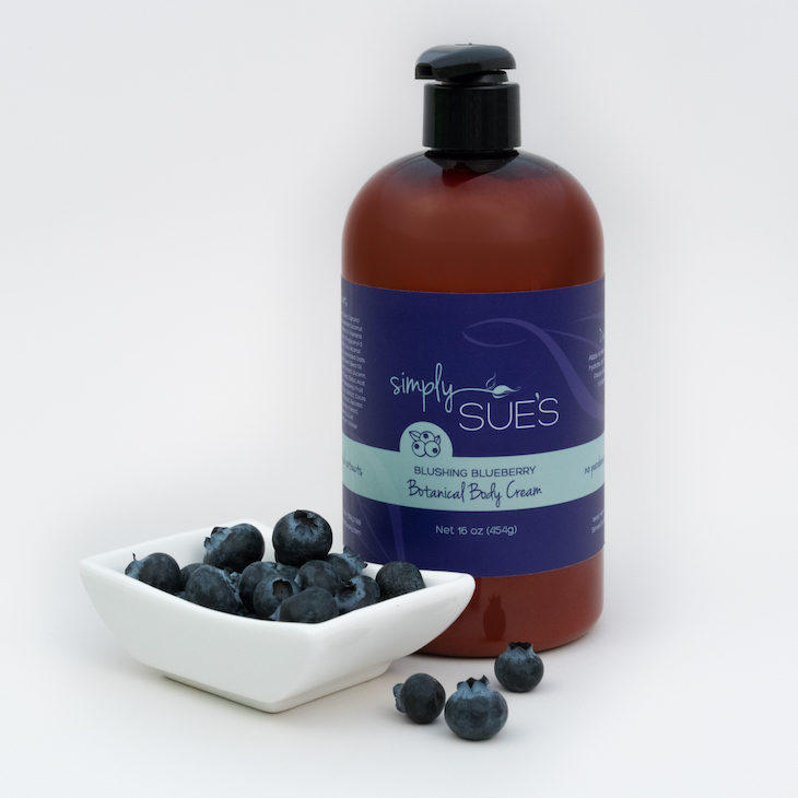 Single product photograph using natural ingredients.