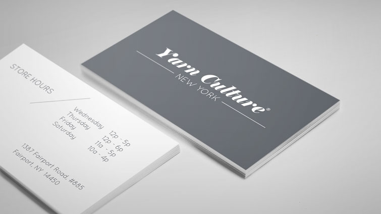 Yarn Culture business cards