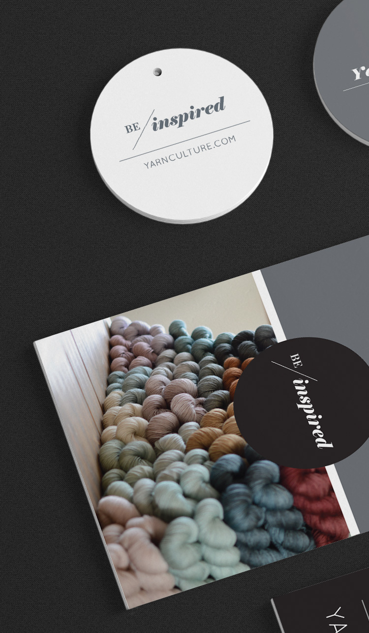 Yarn Culture branded business collateral