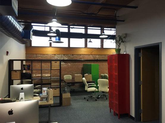 Grid Marketing internal office.
